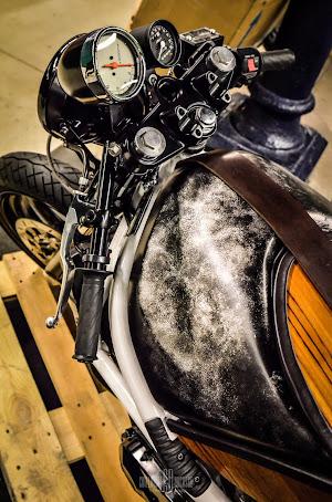 préparation cafe racer moto paris rides mode de vie accessoires