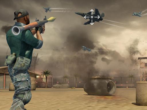Jet Sky War Fighter 2019: Airplane Shooting Combat apktram screenshots 9