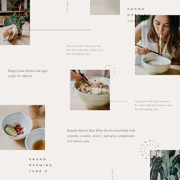 Asian Restaurant Opening - Instagram Template