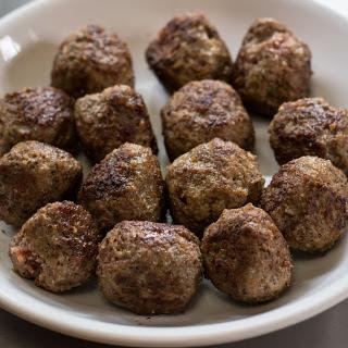 Simplest Possible Meatballs Recipe