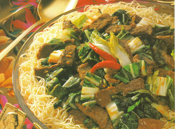 Five Spice Beef And Bok Choy Recipe