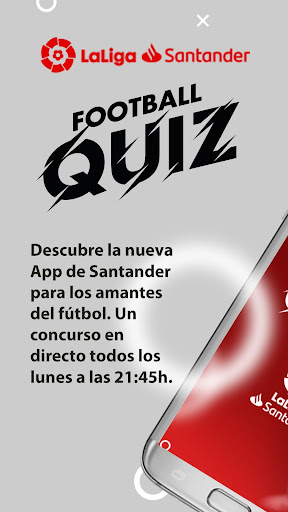 SANTANDER FOOTBALL QUIZ screenshot 2