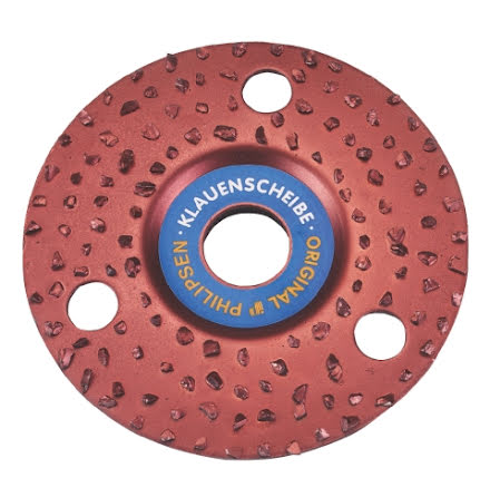 Klövfrässkiva Rasp Standard 125 mm.