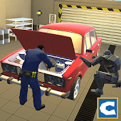 Robot Car Mechanic Simulator