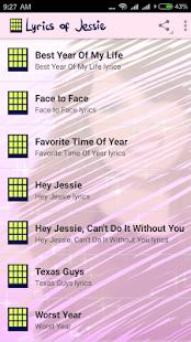 Letras de Jessie - náhled