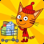 Три Кота Магазин Игра: Детские игры от СТС