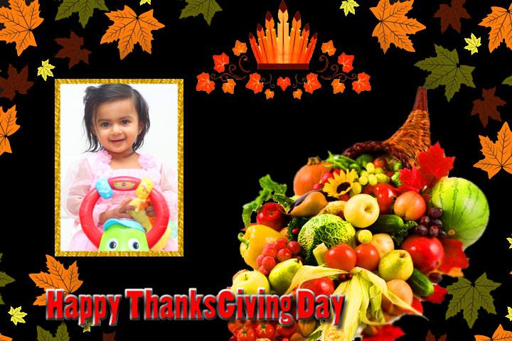 android Thanksgiving Day Photo Frames Screenshot 7