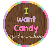 I Want Candy Go Launcher