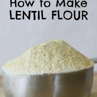 Lentil Flour Recipes