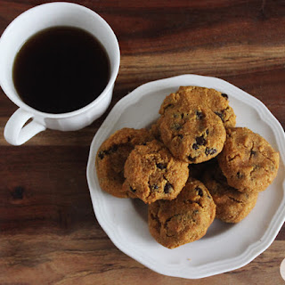 Grain-Free Chocolate Chip Pumpkin Cookies