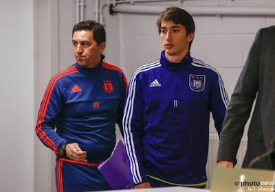 """Djuricic a trouvé un camarade à Anderlecht: """"Nous parlons la même langue: le football"""""""