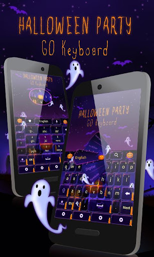 Halloween Party Keyboard Theme