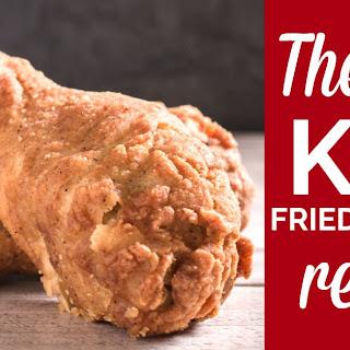 KFC fried chicken.
