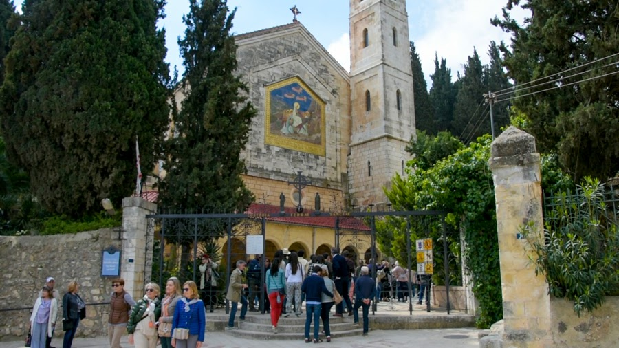 Церковь Встречи. Эйн Карем. Экскурсия в Иерусалиме