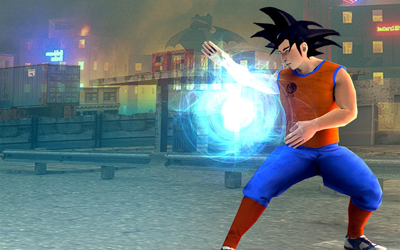 Son Goku Epic Battle City Hero- screenshot