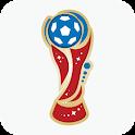 Football Cup 2018 - Scores, Fixtures, Goal alert icon