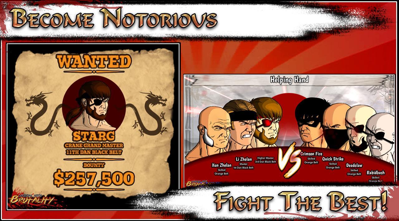 Martial Arts Brutality (Beta) – zrzut ekranu