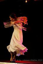 """Photo: Małgorzata Matuszewska. Prezentacja spektaklu """"Zmienność Róży"""" luty 2010 Centrum Kultury Łowicka w Warszawie. Fot. Liliana Otręba"""