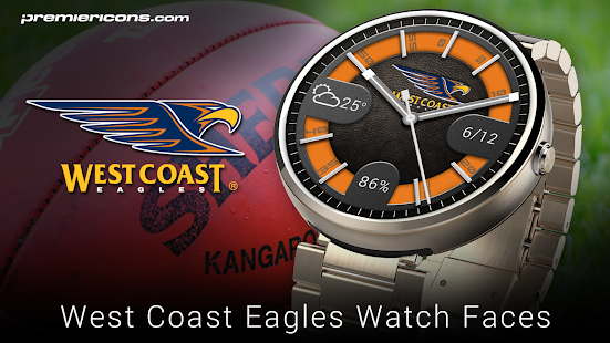 West Coast Eagles Watch Faces- screenshot thumbnail