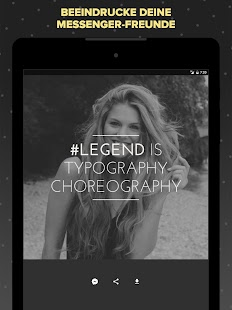 Legend – Videotexte animieren Screenshot