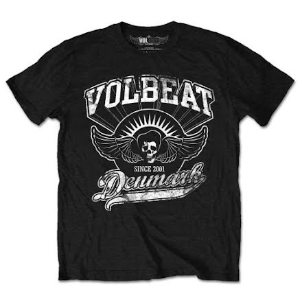 T-Shirt - Volbeat - Rise from Denmark
