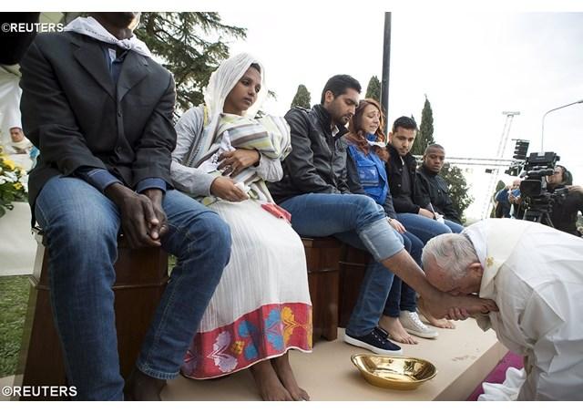 Đức Thánh Cha sẽ rửa chân cho các tù nhân trong nhà tù Paliano thứ Năm Tuần Thánh