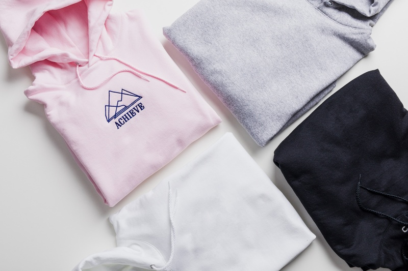 hoodies in different colors