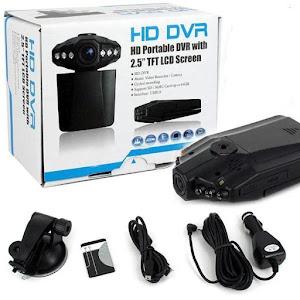 Camera auto DVR 2.4 inch cu inregistrare ciclica