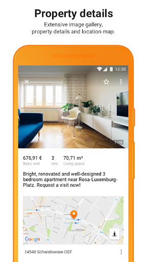 ImmobilienScout24 - House & Apartment Search screenshot 5