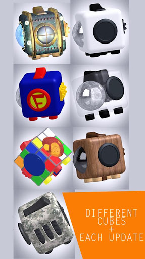 Fidget Cube 3D screenshots 2
