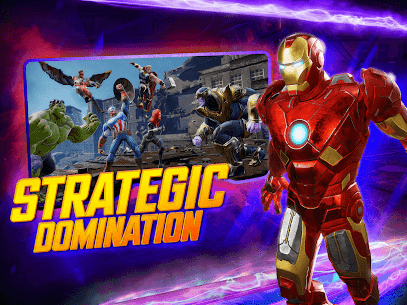 MARVEL Strike Force MOD (Unlimited Energy) 9