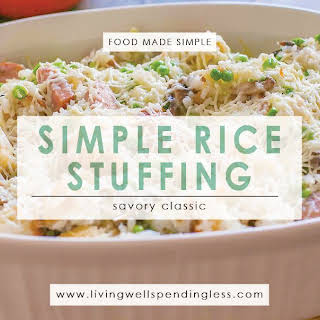 Simple Rice Stuffing.