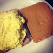 Scrambled Eggs Sandwich