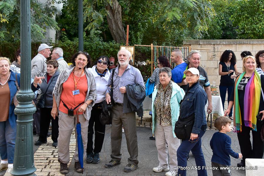 Экскурсия гида по Израилю Светланы Фиалковой в Зихрон Яакове.