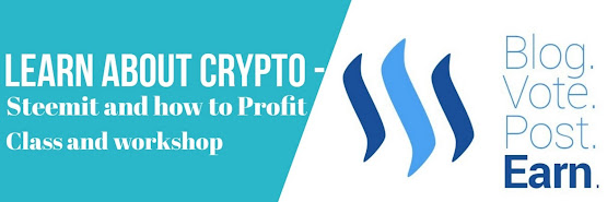 Learn About Crypto - Steemit and how to Profit