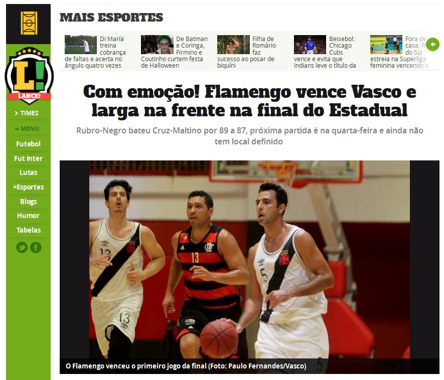 FlaPress no Basquete