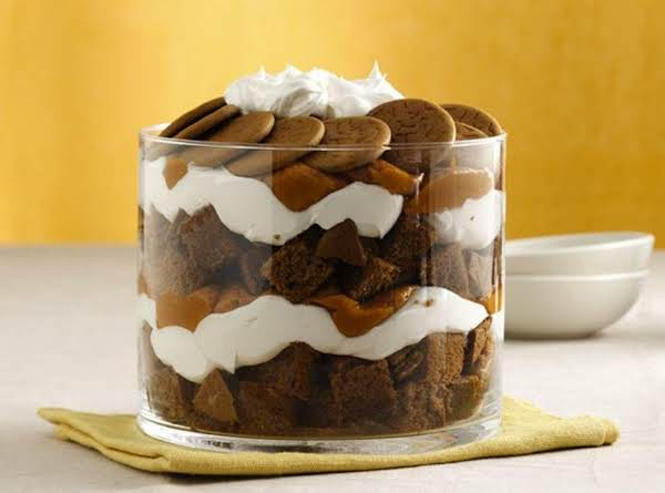 Holiday Pumpkin Gingerbread Triffle Recipe