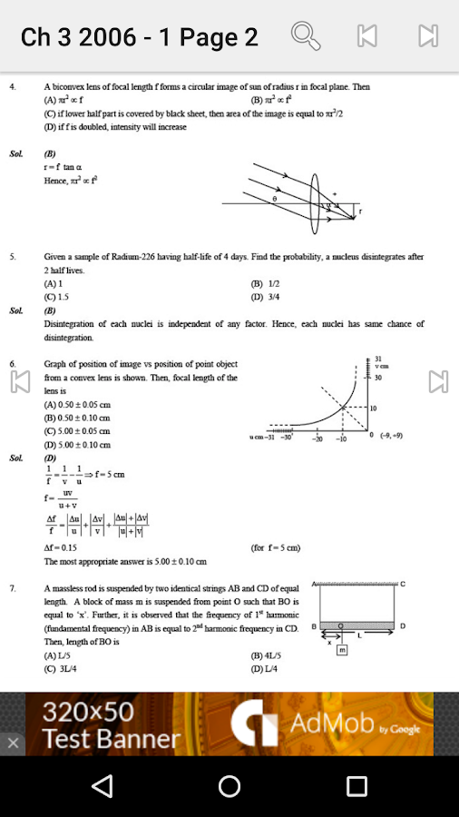 Physics Solved Papers IIT JEE- screenshot