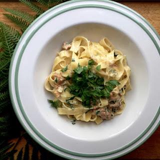 86 Tagliatelle with Chanterelle Mushroom Recipe
