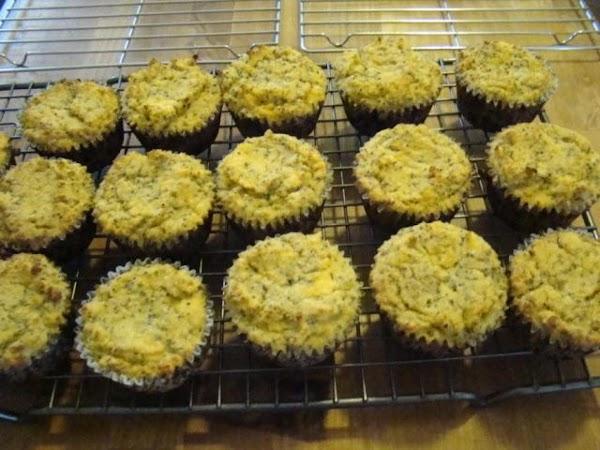 Coconut Chia Fruit Muffins Recipe