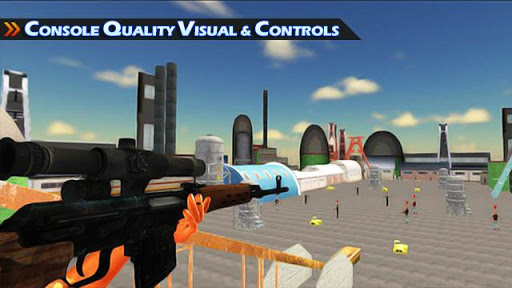 Sniper Shooting Game: american