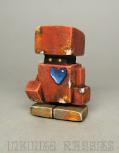 """Photo: Custom HX log. Approx. 1.5"""" resin. Adding to my own HX Studio Toys collection."""