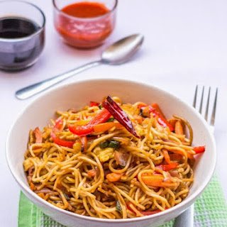 Stir-Fry Noodles with Veggies