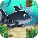 Mommy & Baby Shark Run Do Do Do Fun Adventure icon