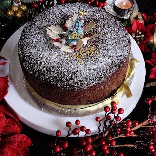Quick and Easy Christmas Fruit Cake