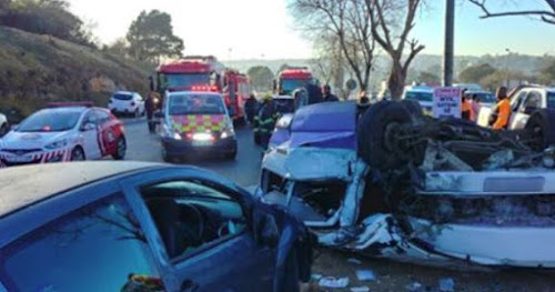 One dead in collision on M13 near Pinetown
