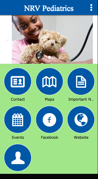 NRV Pediatrics- screenshot