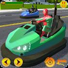 Bumper Cars Demolition 2018 : Superhero Driving 3D icon