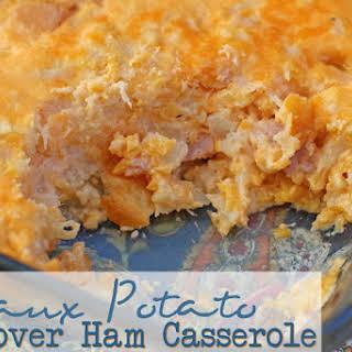 Ham Sham Spud Leftover Ham Casserole.