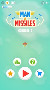 Man Vs. Missiles- screenshot thumbnail